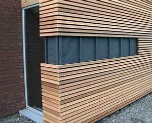 Bardage Façade Maison : bardage et fa ades en 2019 fa ades bois house cladding wood cladding et facade ~ Nature-et-papiers.com Idées de Décoration