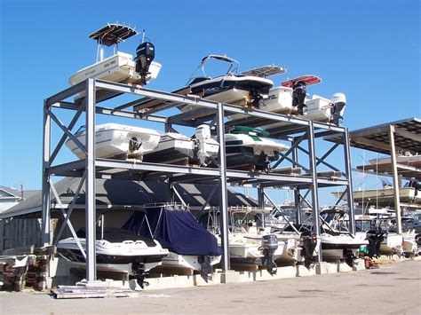 Boat Club Storage by Port City Builders Inc Completed Projects