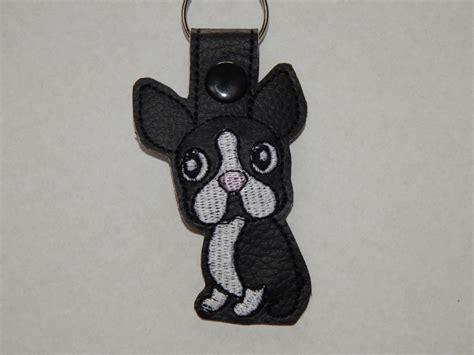 sleutelhanger boston terrier wwwlucahalsbandnl