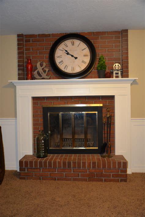diy fireplace mantel  idea room