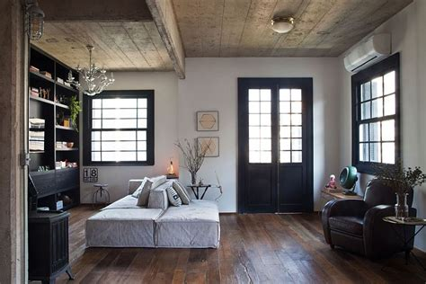 living room apartment world charm finds modern expression inside apartamento Industrial