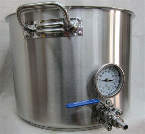 kettle brew gallon kettles steel stainless beef beer homebrew induction output ready fizzle bigger things