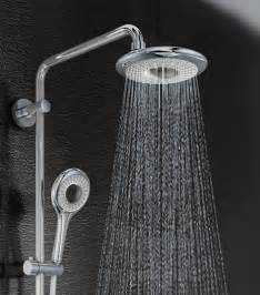 Home Depot Kitchen Faucets Moen by Grohe Rainshower Icon Showerhead Is A New Addition To