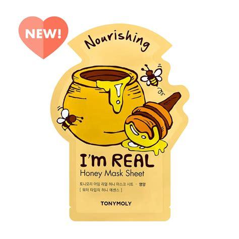 tonymoly im real honey sheet mask  beauty products
