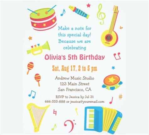 kids birthday invitation templates psd ai word