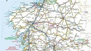 Mapas de Galicia, España
