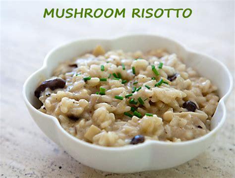 easy risotto recipe easy mushroom risotto recipe the royale