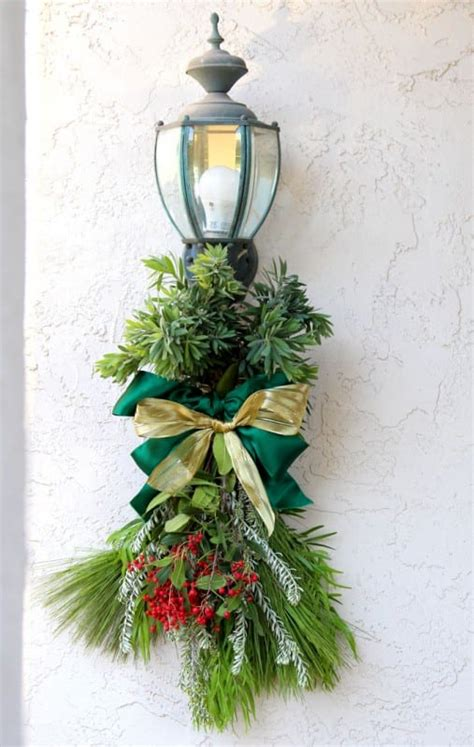 remodelaholic   gorgeous fresh evergreen christmas