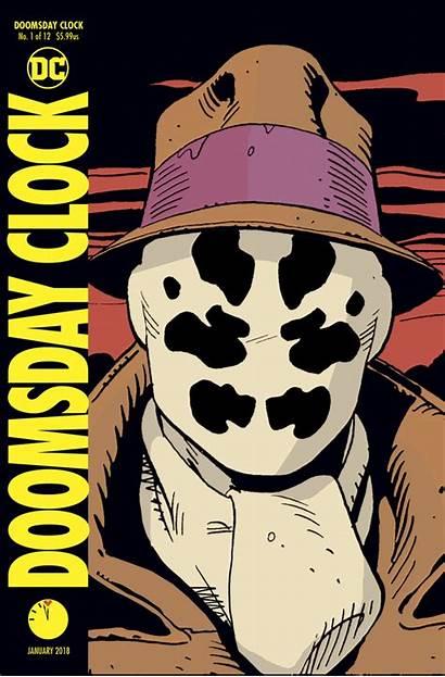 Doomsday Clock Rorschach Watchmen Teases Dc Batman