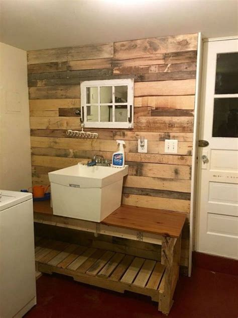 hate  dreary laundry room    cute ideas