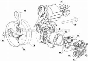 Dewalt D55168 Parts List And Diagram
