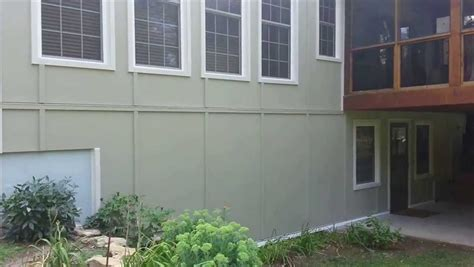 4x8 Smooth Cement Siding