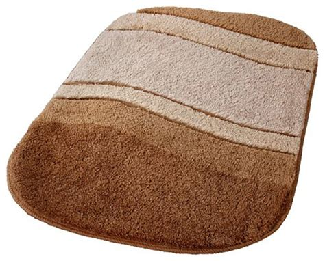 Vita Futura Bamboo Beige Unique Oval Non Slip Washable