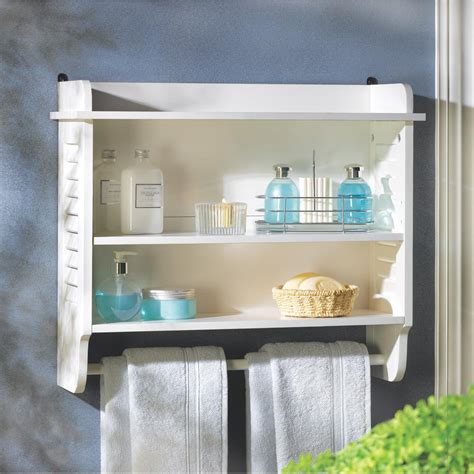 nantucket bathroom wall shelf wholesale  koehler home decor