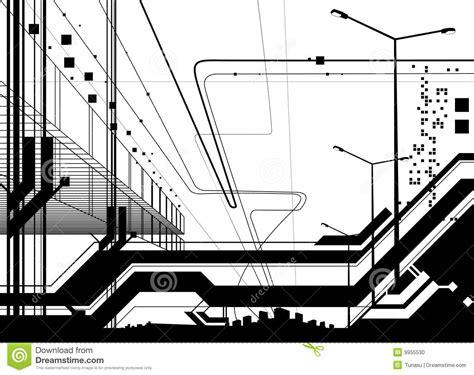 Architectural Modern Design Vector Stock Photo Image