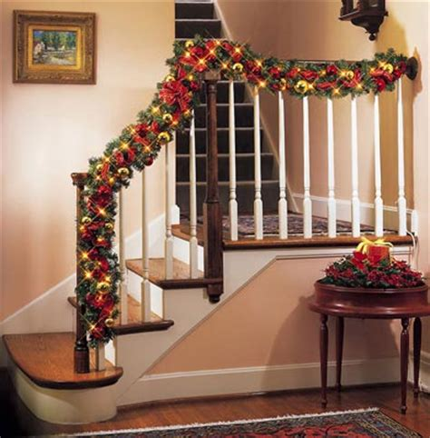 lighted garland for staircase collections etc find unique online gifts at