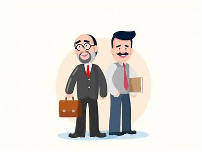 Employee Employer Boss Employees Branding Experience Animation