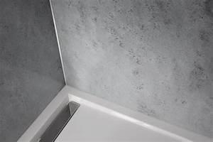Fugenlose Wandverkleidung Bad : wasserfeste platten f r dusche pq05 hitoiro ~ Michelbontemps.com Haus und Dekorationen