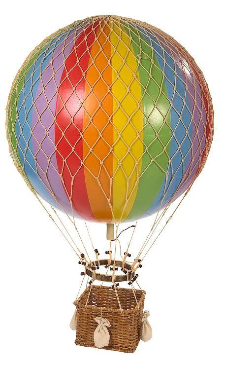jules verne balloon rainbow hot air balloon authentic models