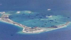 US calls for land reclamation 'halt' in South China Sea