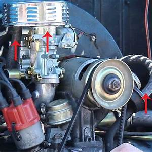 Carburetor  U0026 Intake Manifold Installation  Vw Parts
