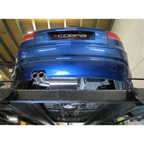 audi a3 8p 3 2 v6 quattro sports exhaust