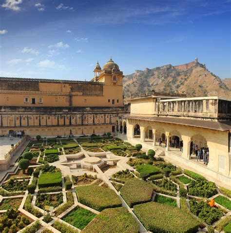 Garden Jaipur by Garden In Fort Jaipur Stock Photo Image Of Fort
