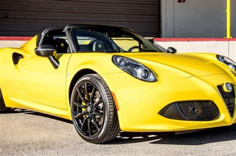 Alfa Romeo C4 Spider Rental Los Angeles  La Sports
