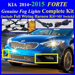 Fog Light Lamp Complete Kit   Wiring Harness Kit For Hyundai Kia Vehicle   2014