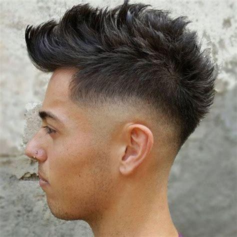 Boy Faux Hawk Hairstyle by 25 Faux Hawk Fohawk Haircuts 2019 Fade Haircuts Faux