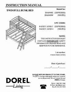 Bunk Bed Assembly Instructions Pdf