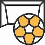 Icon Football Icons Shadow Yellow Flaticon