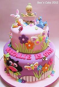 Birthday Cakes Images: Beautiful Pink Little Girls ...