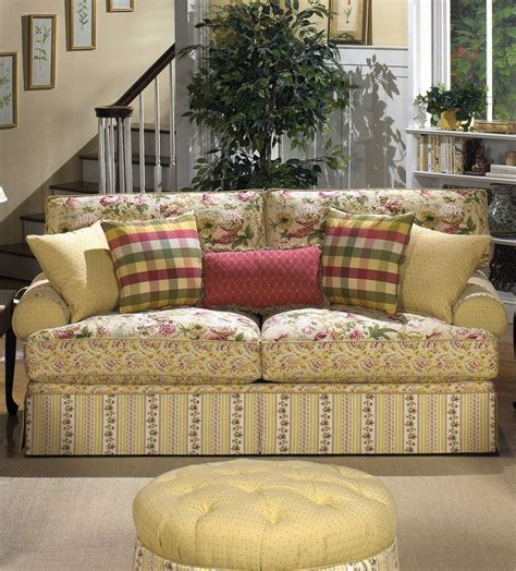 country loveseat cottage floral sofa i m getting so i just adore sofas