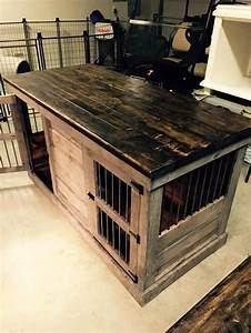 25 best ideas about large dog crate on pinterest dog With black dog crate furniture