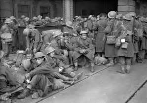Dunkirk Evacuation British Soldiers