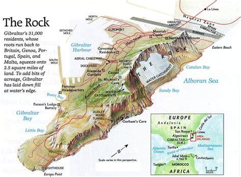 ideas  map  gibraltar  pinterest