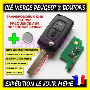 Cle Peugeot 308 : cl vierge peugeot 207 307 308 407 607 pile ~ Nature-et-papiers.com Idées de Décoration