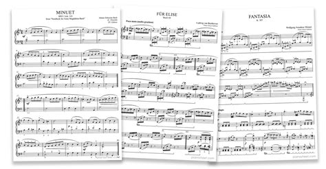 not piano fur elise piano editions and urtext scores