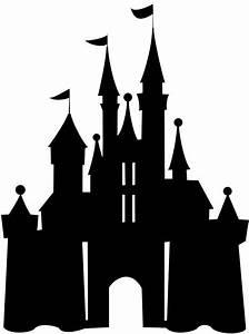 Image of disney castle clipart disney castle silhouette ...