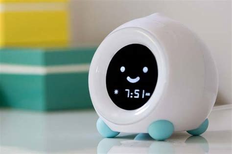 mella kids alarm clock  sleep trainer gadgetsin