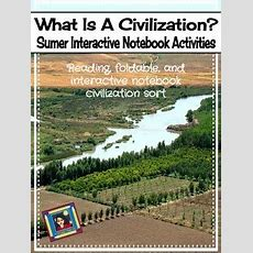 What Is A Civilization? Sumerian  Mesopotamian Interactive Notebook Activities