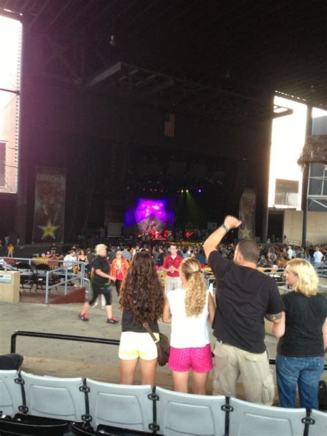 hollywood casino amphitheatre tinley park il section  rateyourseatscom