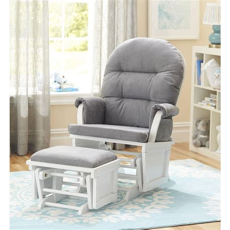 gray chair with ottoman grey rocking chair with ottoman chairs seating