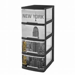 Tour De Rangement Enfant : curver 203619 tour de rangement a4 new york 4 tiroirs comparer avec ~ Teatrodelosmanantiales.com Idées de Décoration