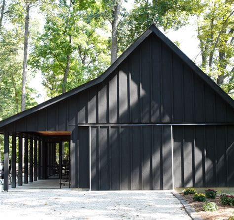 Barn With Black Trim by Black Barn With Black Trim Black Barns Other