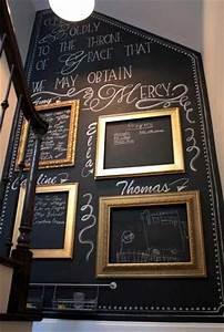 7 idees deco pour s39amuser avec de la peinture tableau noir With idee couleur couloir entree 4 comment habiller les murs dun couloir et dun hall dentree