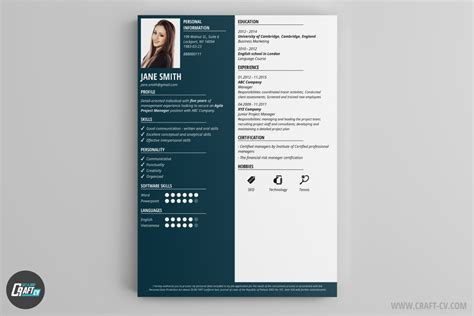Free Resume Maker by Resume Builder 36 Resume Templates Craftcv