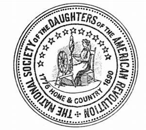 CUSTOM — Oran... Daughters Of The American Revolution