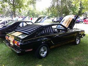 1976 Ford Mustang II Base Hardtop 3-Door 5.0L COBRA Black with Gold Stripes - Classic Ford ...